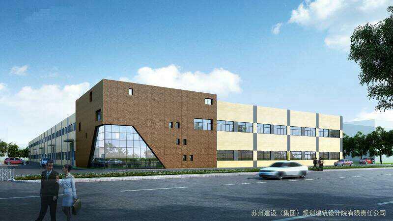 A8227 苏州吴江开发区与青浦相邻8000平方米新建单层厂房出租 0.8元 可分割