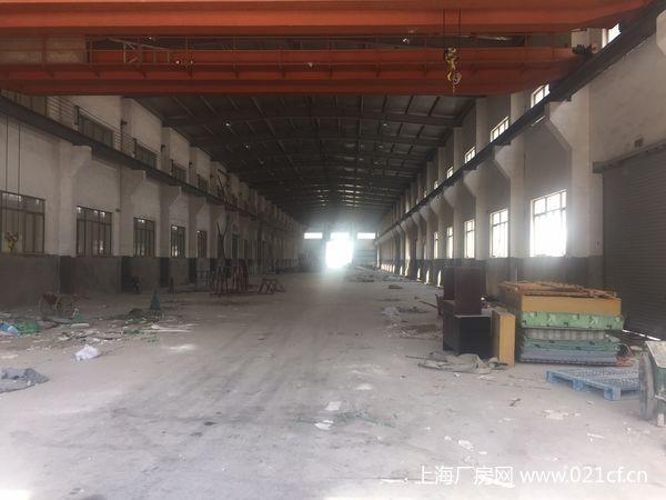 G1662  青浦工业园区崧泽大道单层104板块厂房仓库出租 8500平可分割  仓储及元污染企业